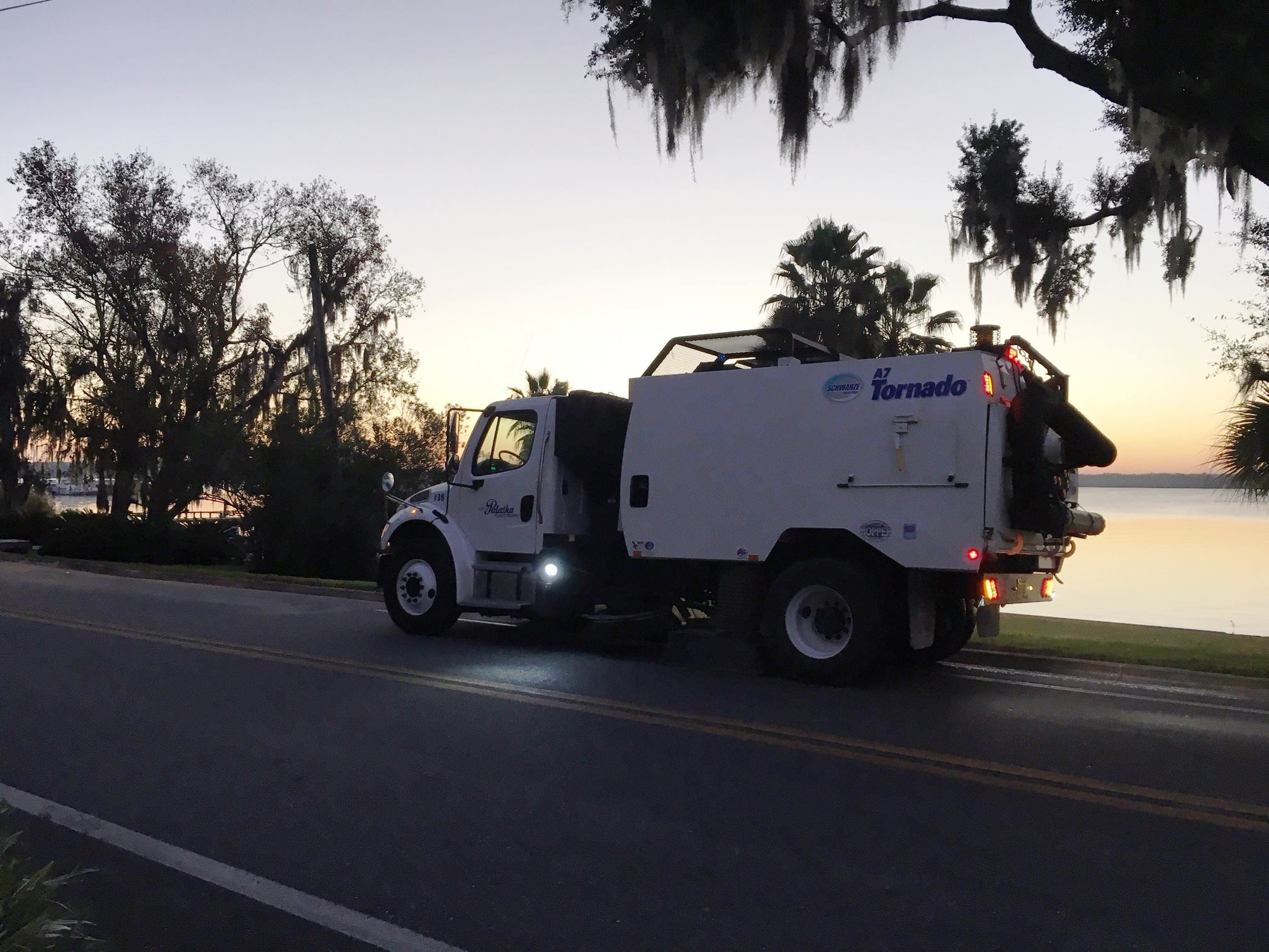 Street Sweeping on River Street